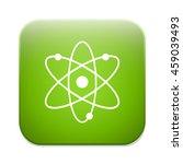 atom sign icon. atom part... | Shutterstock .eps vector #459039493