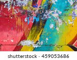 fragment of a wall with... | Shutterstock . vector #459053686