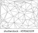 modern vector geometric... | Shutterstock .eps vector #459063109