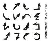 arrow icons   Shutterstock .eps vector #459074440