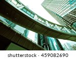 abstract buildings background | Shutterstock . vector #459082690