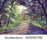 Magic Forest Digital Paint