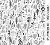 seamless background   forest. | Shutterstock .eps vector #459093064