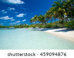 beach and tropical sea | Shutterstock . vector #459094876