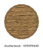 top of wine or beer wooden...   Shutterstock .eps vector #459099640
