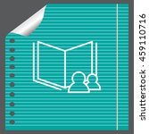read data icon   Shutterstock .eps vector #459110716