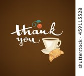 thank you lettering composition ... | Shutterstock .eps vector #459115528