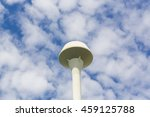 water reserve tank and blue sky | Shutterstock . vector #459125788