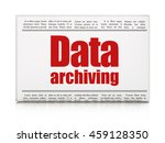 data concept  newspaper... | Shutterstock . vector #459128350