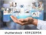 tv. | Shutterstock . vector #459130954