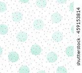 vector seamless pattern of mint ... | Shutterstock .eps vector #459153814