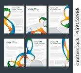 rio olympics poster design set. ... | Shutterstock .eps vector #459153988