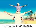 son. | Shutterstock . vector #459167854