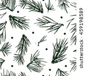 seamless vector pattern with... | Shutterstock .eps vector #459198589