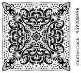 paisley bandana print | Shutterstock .eps vector #459208498
