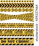 police line  crime scene and... | Shutterstock .eps vector #459227464