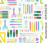 vector seamless stationery...   Shutterstock .eps vector #459230278