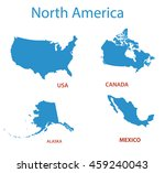 Us Canada Map Free Vector Art - (12,550 Free Downloads)