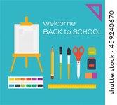 illustration for education... | Shutterstock . vector #459240670