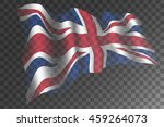 united kingdom flag with shades ...   Shutterstock .eps vector #459264073
