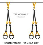 tpx loop training equipment.... | Shutterstock .eps vector #459265189