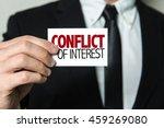 conflict of interest | Shutterstock . vector #459269080