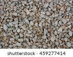 crushed grey stone on the...   Shutterstock . vector #459277414