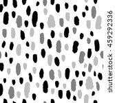 seamless trendy brush spot...   Shutterstock .eps vector #459292336