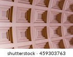 geometric background.  lines ... | Shutterstock . vector #459303763
