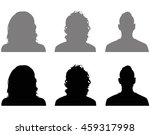 people icons  vector... | Shutterstock .eps vector #459317998