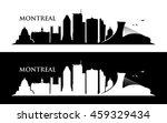 montreal skyline   vector... | Shutterstock .eps vector #459329434