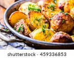 Roasted Potatoes With Smoked...
