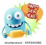 3d rendering. candy gift... | Shutterstock . vector #459344380