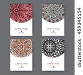 set of four elegant a4... | Shutterstock .eps vector #459345154