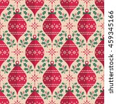 seamless christmas pattern in... | Shutterstock .eps vector #459345166