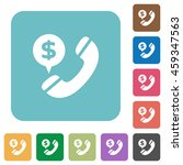 flat dollar call icons on... | Shutterstock .eps vector #459347563