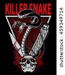 snake vector desgn   Shutterstock .eps vector #459349714