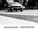 summer in the city  the car go... | Shutterstock . vector #459363550