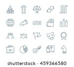 politics and election vector... | Shutterstock .eps vector #459366580
