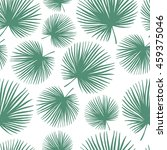 tropical seamless pattern with... | Shutterstock .eps vector #459375046
