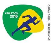 athletics icon  vector... | Shutterstock .eps vector #459379090