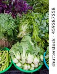 Assorted Green Vegetables At...