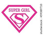 super girl | Shutterstock .eps vector #459389710