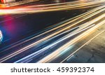 colorful long exposure light... | Shutterstock . vector #459392374