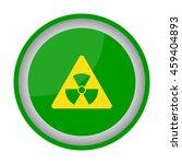 web icon. radiation hazard | Shutterstock .eps vector #459404893
