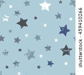 cute seamless pattern. baby boy ... | Shutterstock .eps vector #459410266