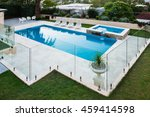 Modern Swimming Pool Covered...