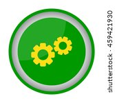 web line icon. gears | Shutterstock .eps vector #459421930