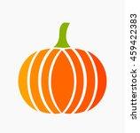 pumpkin icon. vector...   Shutterstock .eps vector #459422383