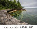 Cove On The Coast Of Lake...